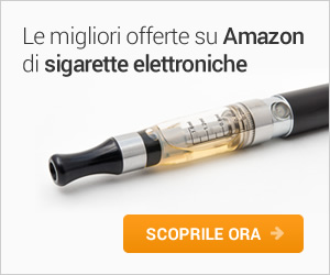 Sigaretta elettronica su Amazon